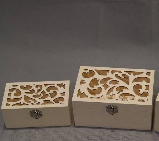 new wooden packing box