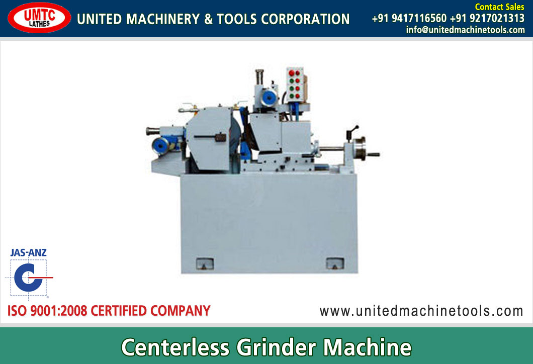 Centerless Grinder Manufacturers Exporters in India Punjab Ludhiana