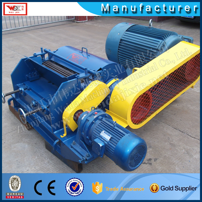 Standard rubber hammer mill machine in impact type