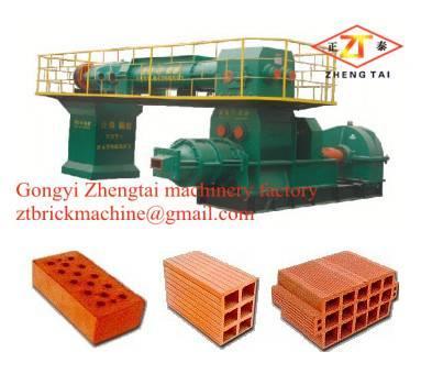 professional clay brick extruder