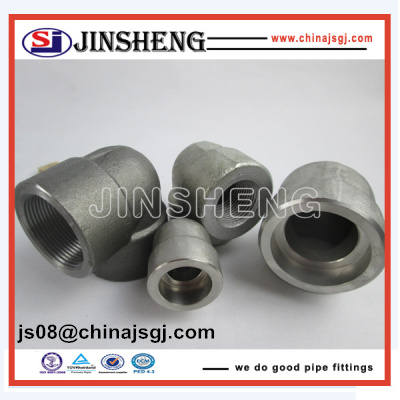 ASME/ANSI B16.11 Forged High Pressure Pipe Fittings For gas/water/oil pipeline