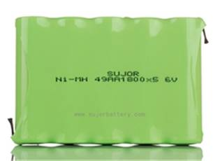 NiMH rechargeable battery Pack with good cost performance CE/SGS approved for emergency lighting