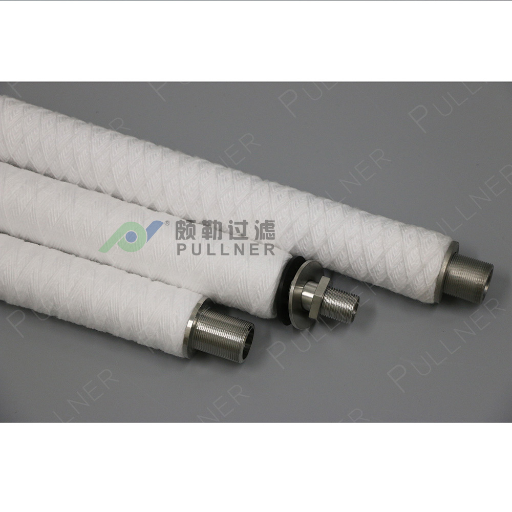 String Wound Iron Removal 10 Micron Filter Element