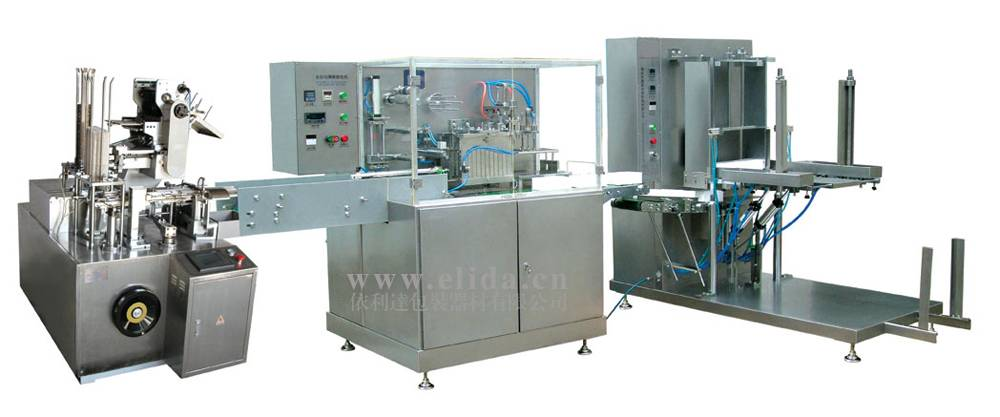 Package production line ZH-002+K170+ZX550