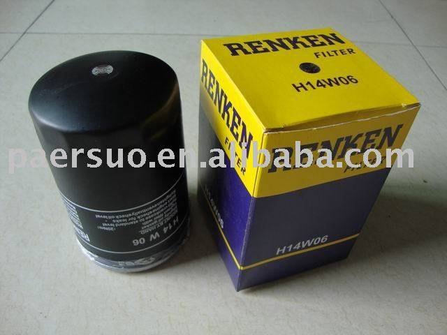 Oil Filter for VOLKSWAGEN H14W06