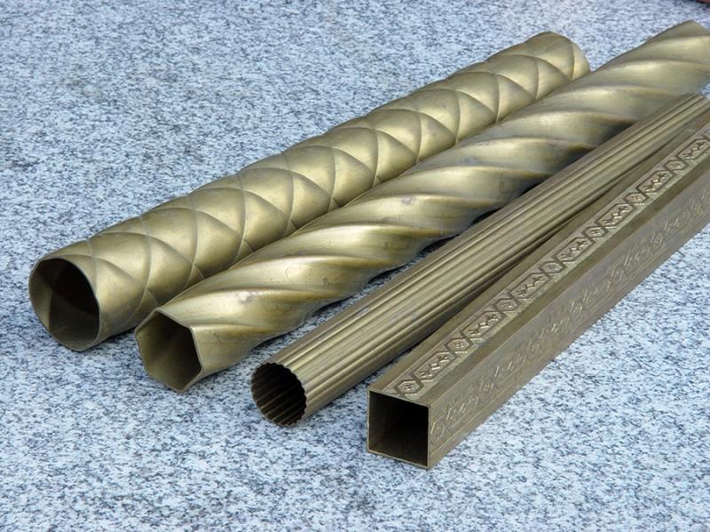 Square copper tube, rectangular copper tube