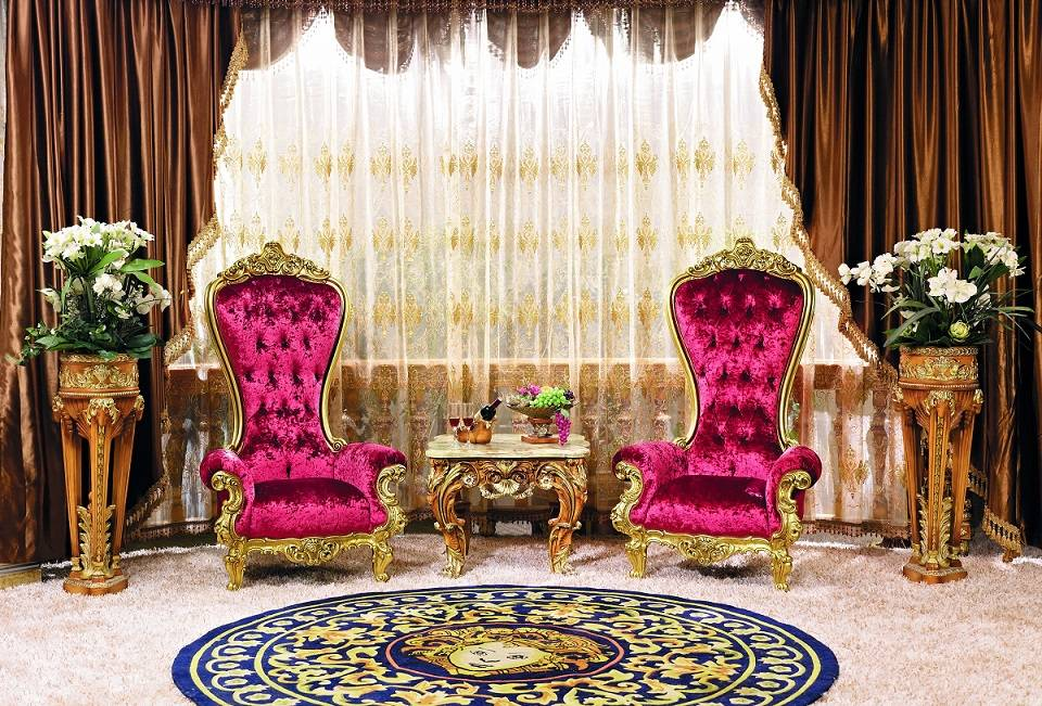 Cool Luxury Handcarved Wooden High Back Sofa Chair Living Room Dailytribune Chair Design For Home Dailytribuneorg