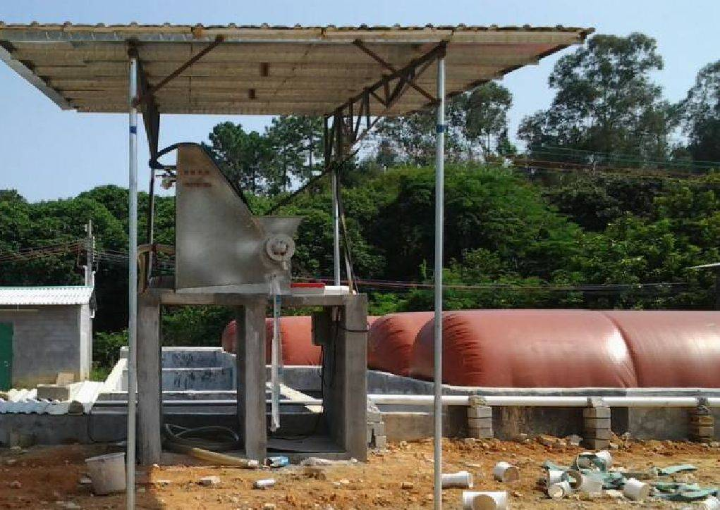 Malaysia red mud biogas digester