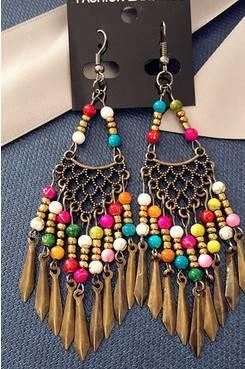 Hook Wire Design Women Earrings