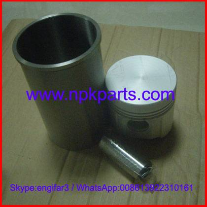 Yanmar engine 3T84 repair kits piston with pin and liner and piston ring 129350-01100 129367-22090 7