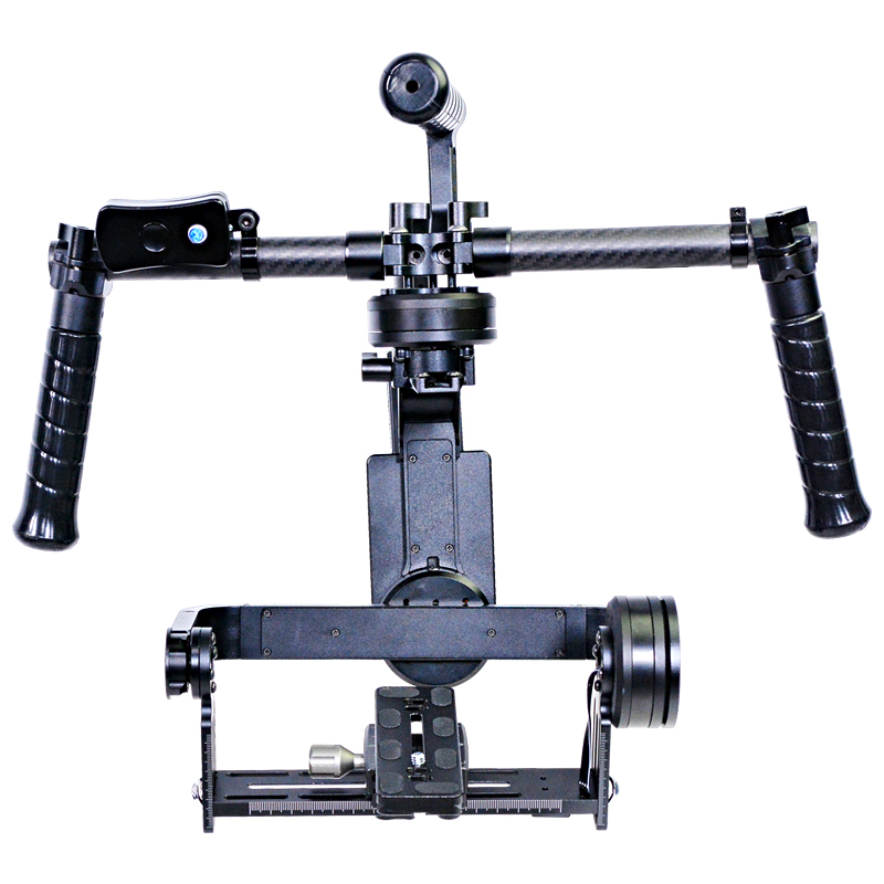 2016 YELANGU Gyroscope Gimbal 3-Axis Brushless Handle DSLR Stabilizer For GH3, A7,5D3
