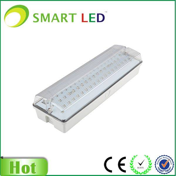 IP65 5W SMD3528 emergency exit sign bulkhead light
