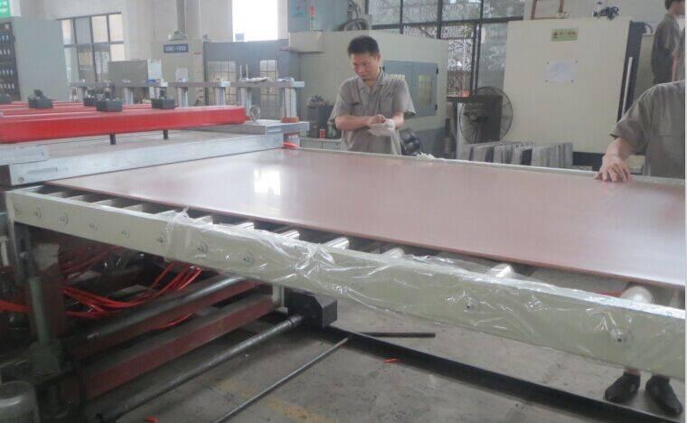 PVC Free Foamed Board Extrusion Line/Machine Unit /Manufacturing Machine