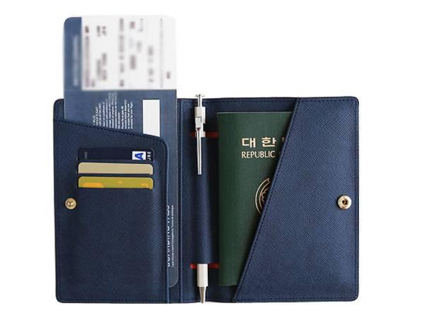 PH912 Prmium Leather Passport Holder