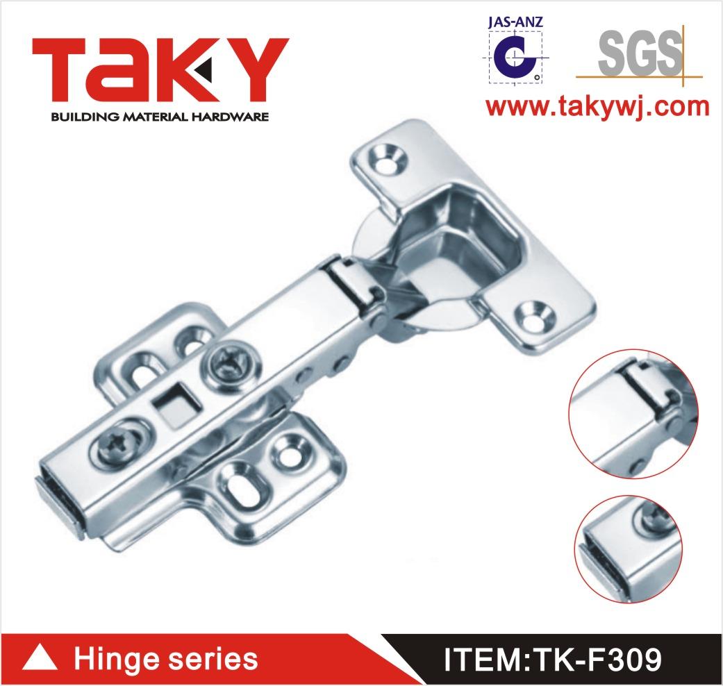 Stainless steel furniture cabinet soft closing hinge