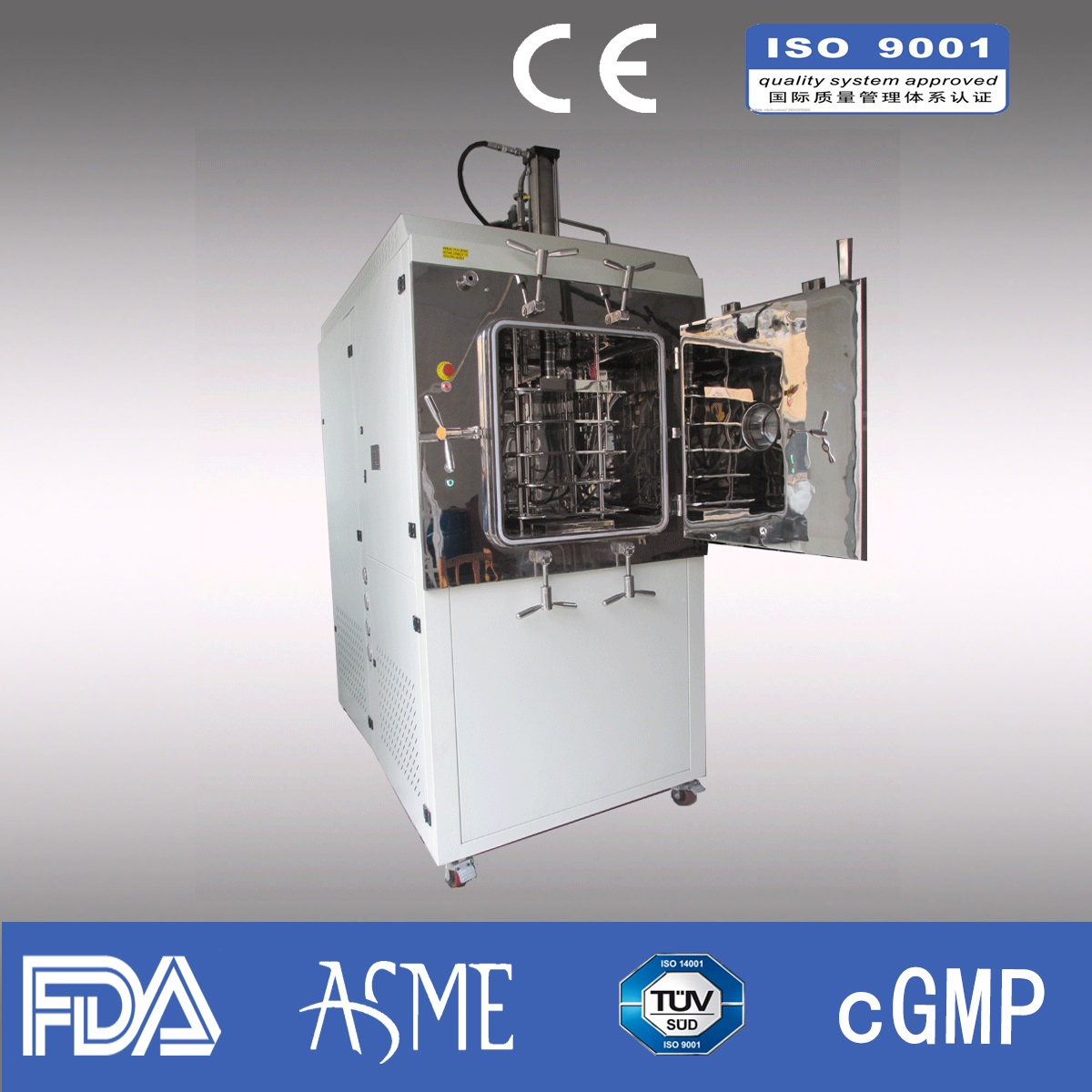 4kg/liter Lab Freeze dryer/ Pharmaceutical freeze dryer