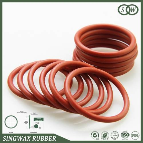 Flexible rubber O-rings and sealing