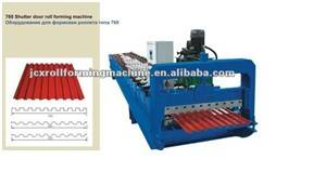 760 Rolling Shutter Door Cold Roll Forming Machine for construction