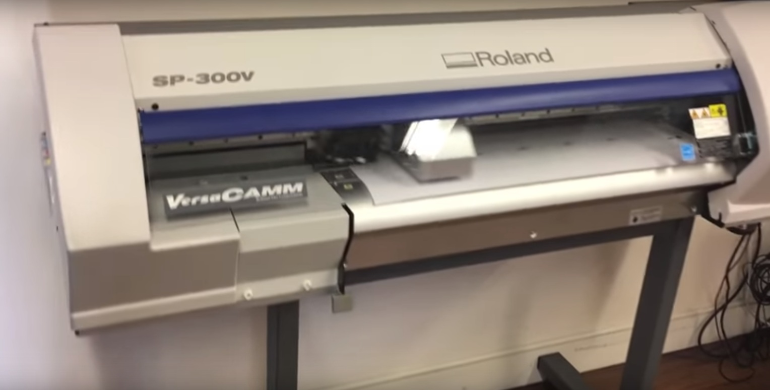 Roland VersaCAMM SP-300V 30-inch Printer/Cutter