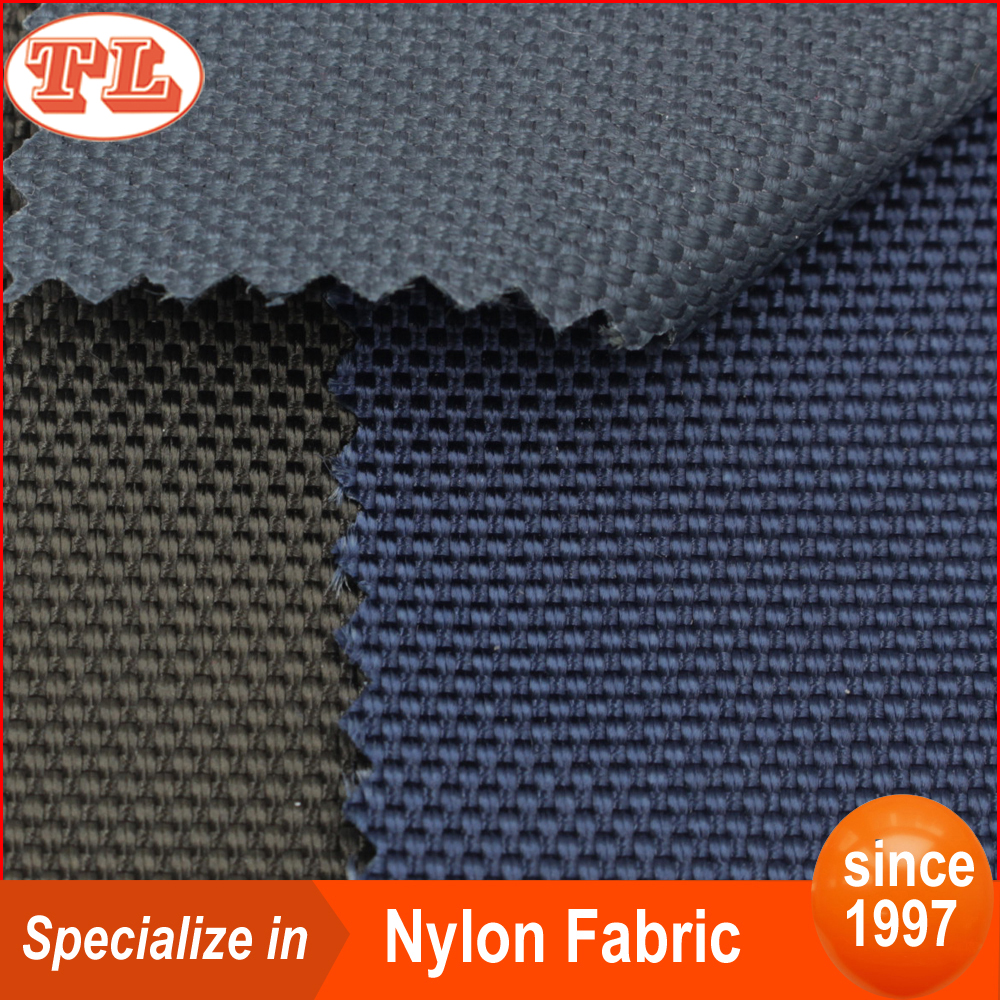 water repellent 1680D ballistic nylon fabric with pu coated for bags backpack