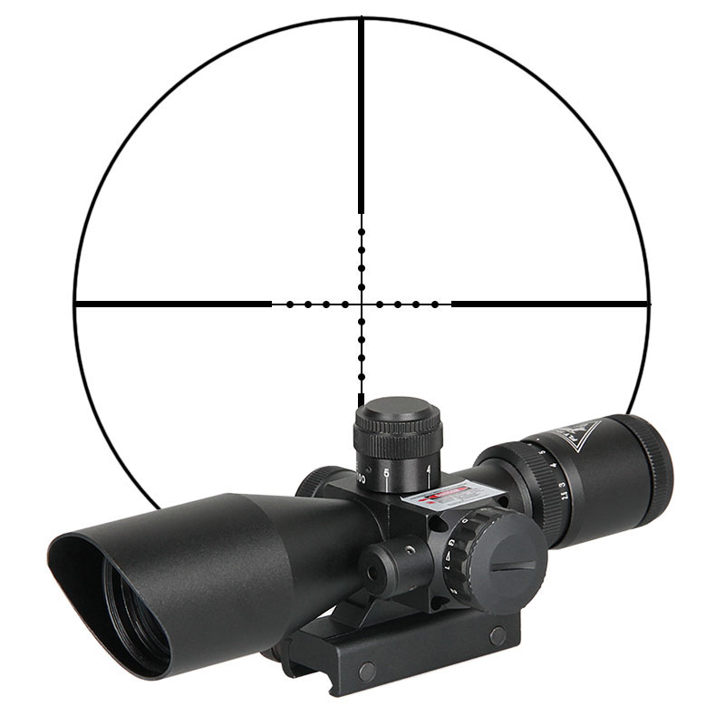 2.5-10X40 tactical gun weapon rifle sight first focal plane optic scope riflescope for hunting