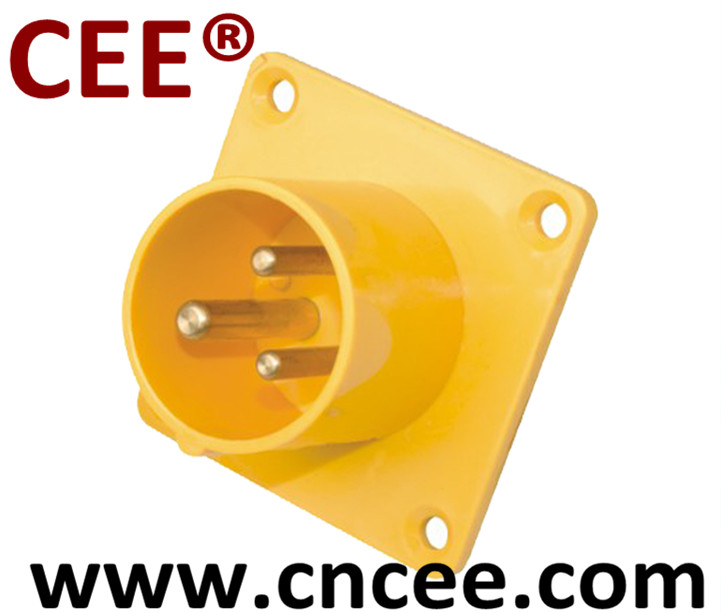 CEE Industrial Plug PANEL MOUNTED