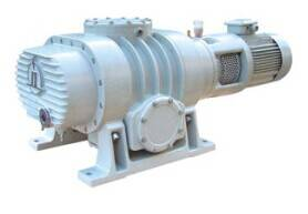 iron casting blue painted roots vacuum pump with high vacuum density