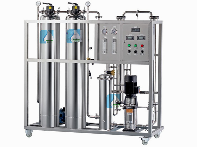 500L/H RO Water Treatment Machine - Shenzhen EcoPura Water