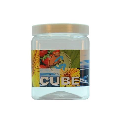 Cube Jar Plastic Cap 1000ml