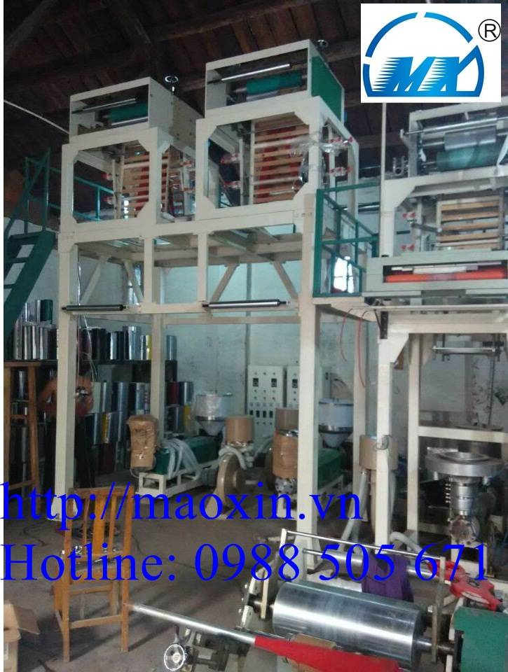 HDPE/LDPE Film Blowing Machine Unit