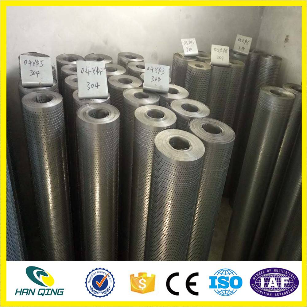 galvanized preforated wire mesh sheet