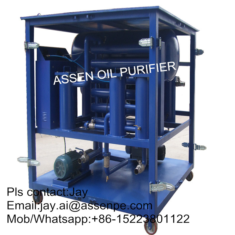Fast Dehydration type transformer oil purifier machine