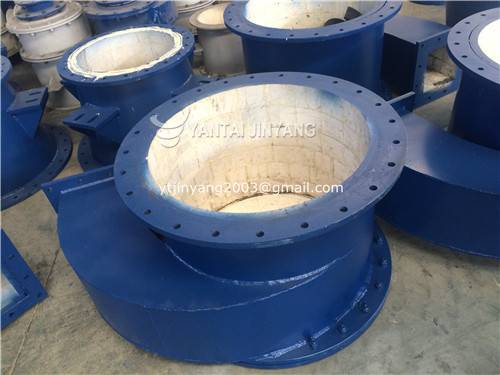 Corundum/Alumina ceramic lined hydrocyclone