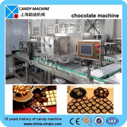 Hot selling chocolate machine in Shanghai