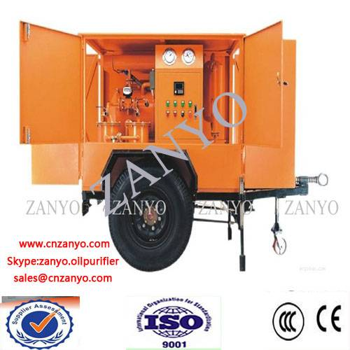 ZYM Mobile type transformer oil purifier