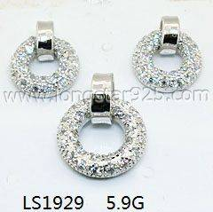 Sterling Silver 925 Fashion Jewelry Sets