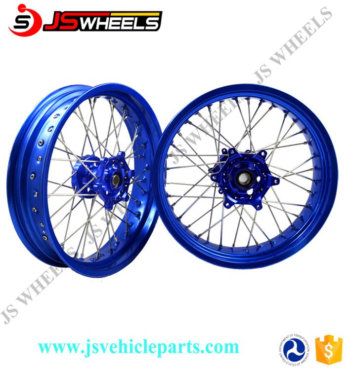 19 21 Inch KAWASAKI Dirt Bike Alloy Hole CNC wheels For KLX150