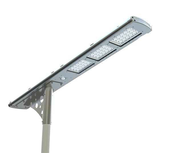 50W motion sensor integrated solar led street lights PIR sensor solar garden outdoor lights