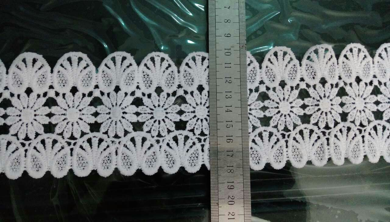 chemical lace for lady's wear