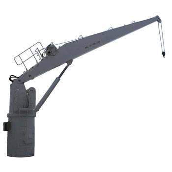 Marine Straight Boom Crane