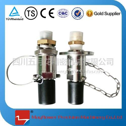 Automobile back gas nozzle LNG vent reclaiming receptacle