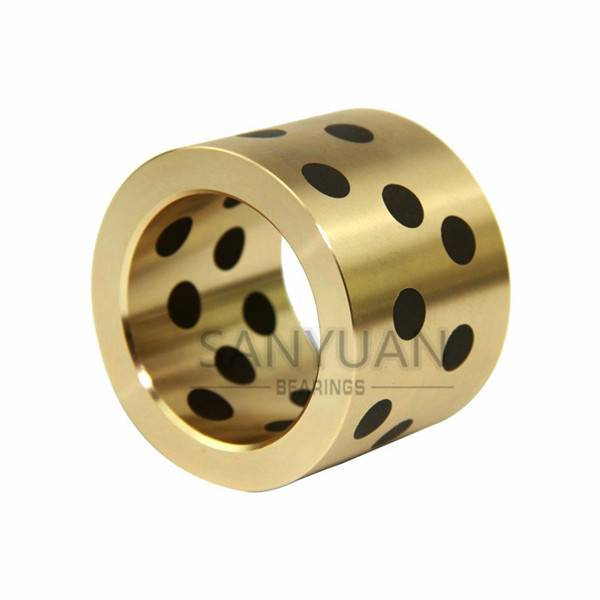 Customize Flanged Bronze Bushing Oilless Bush + Graphite
