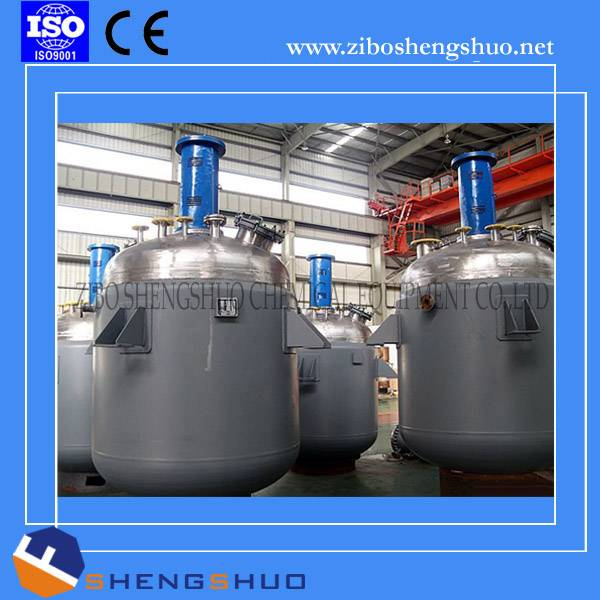 Electric heating mixing tank jacket stainless steel reactor