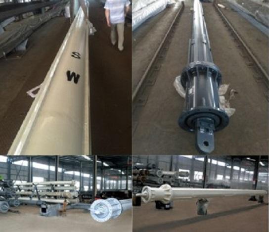 Soilmec Piling Rig Parts Rotary Drilling Interlocking Friction Kelly Bar in IMT Libherr Sany Dri