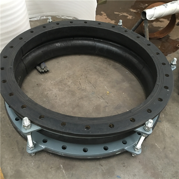 MD601 DN1600 flexible joints flanged ends rubber expansion joint