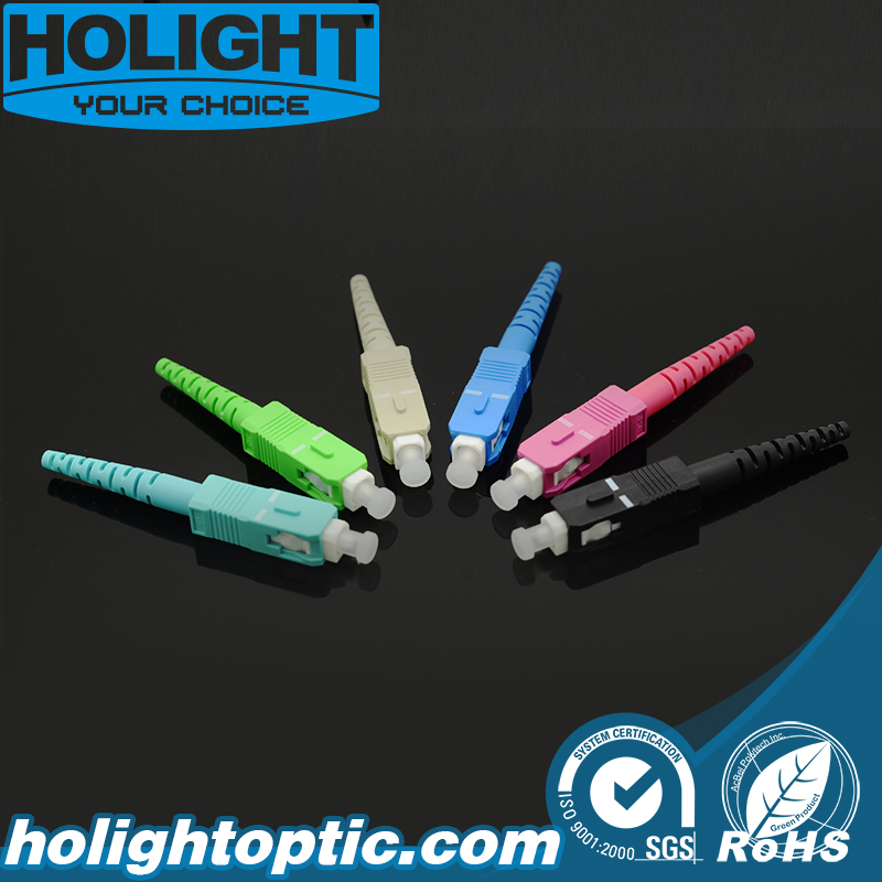 Sc 2.0mm 3.0mm Fiber Optic Connector Kit