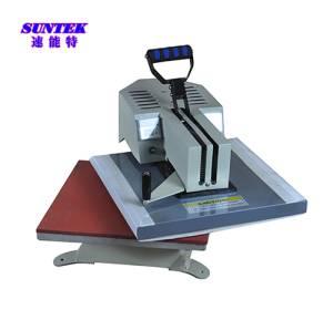 Rotary Swing Heat Press Machine for T-Shirt Transfer
