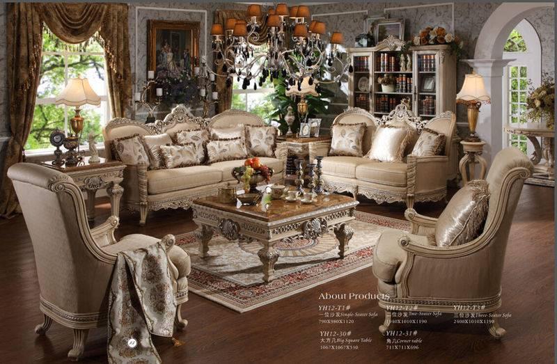 Classic Sofa Furniture,High Quality Antique Sofa Furniture