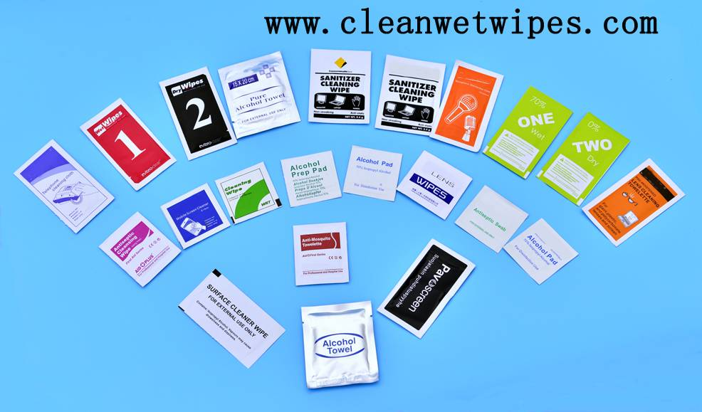 OEM/ODM customized cleaning wet wipes