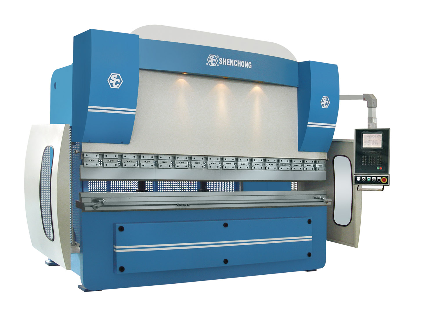 CNC hydraulic press brake 200T3100 DNC600s for sheet metal fabrication